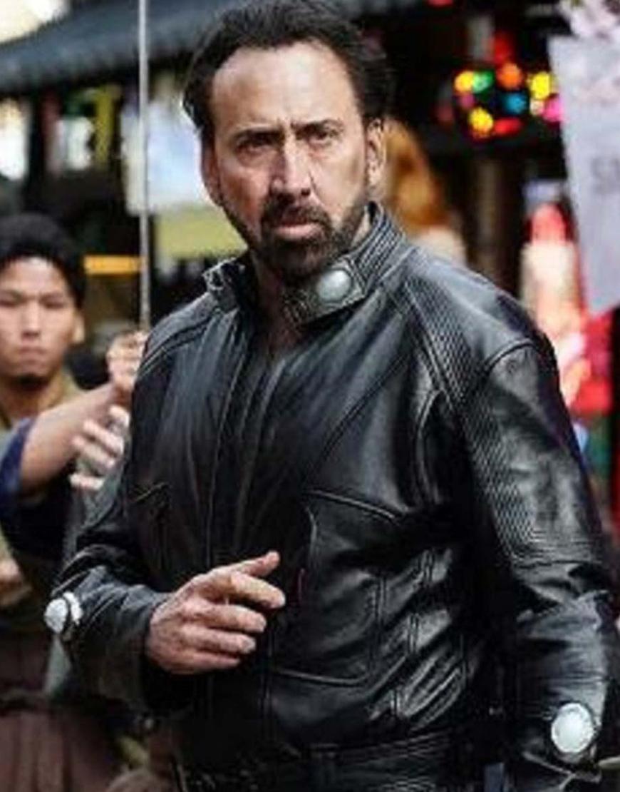 Prisoners of the Ghostland Hero Nicolas Cage Leather Jacket