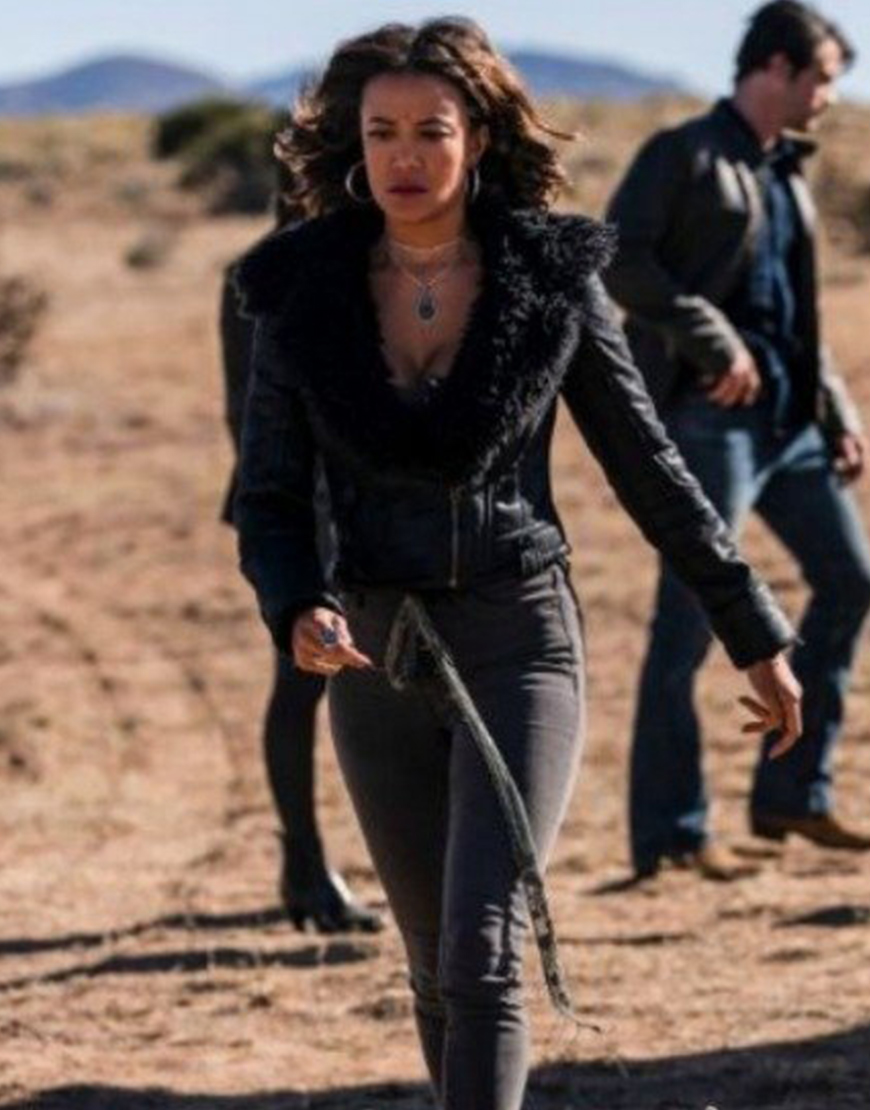 Roswell New Mexico S03 Heather Hemmens Leather Jacket
