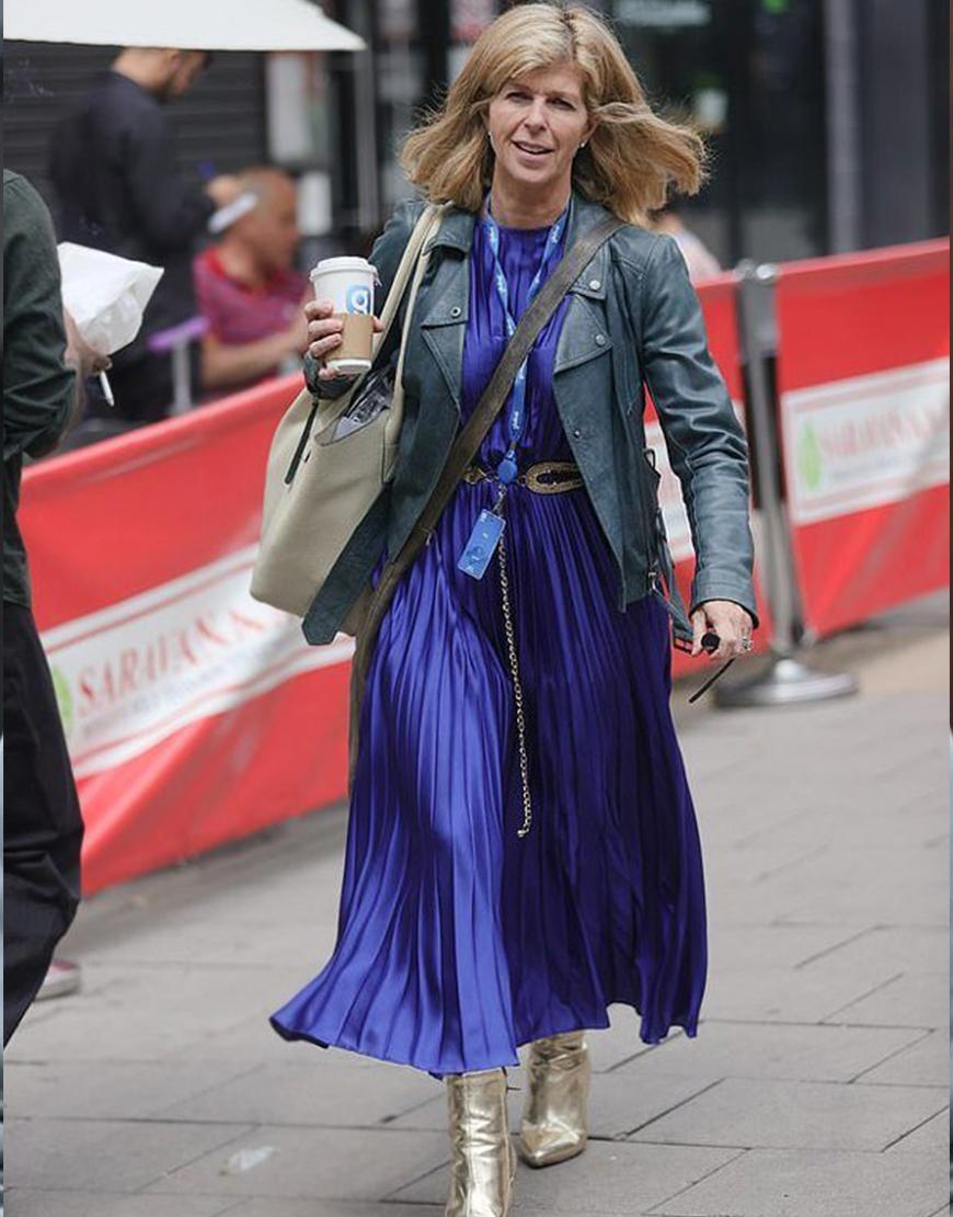 Smooth Radio Kate Garraway Black Leather Jacket