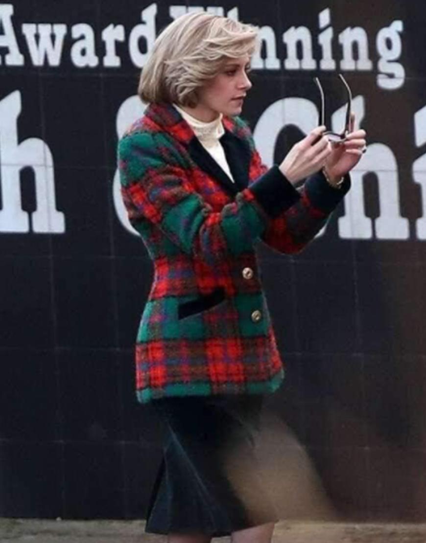 Spencer 2021 Kristen Stewart Sweater Jacket
