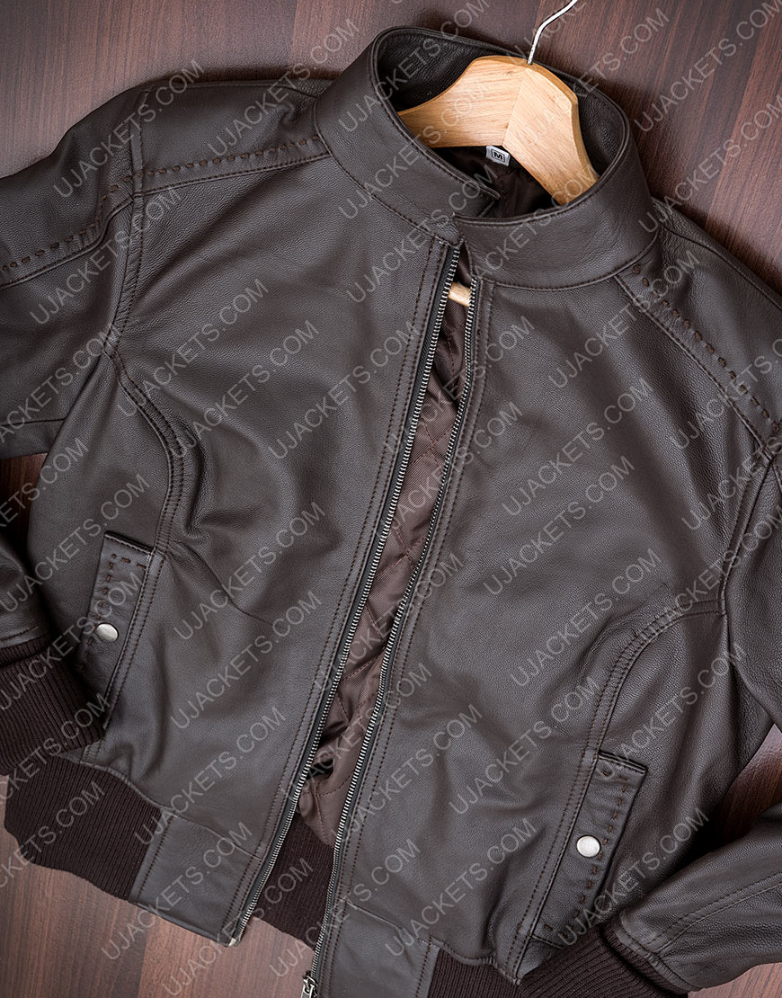 TV-Series The Vampire Diaries Katherine Pierce Black Jacket