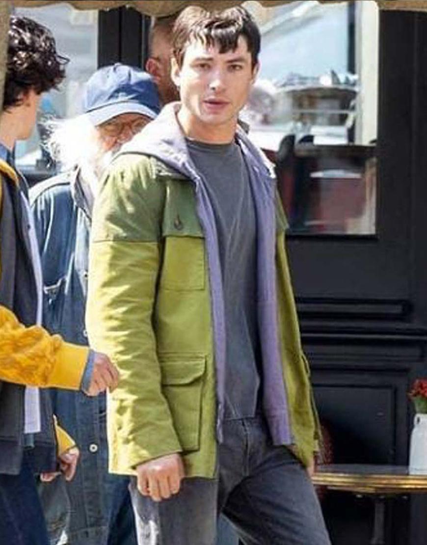 The Flash 2022 Barry Allen Green Jacket