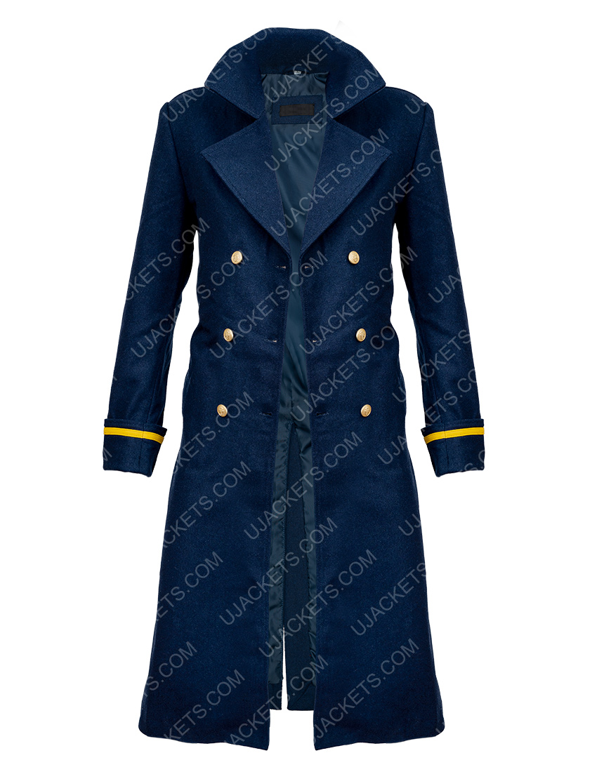 The Harder They Fall 2021 R Blue Coat For Women