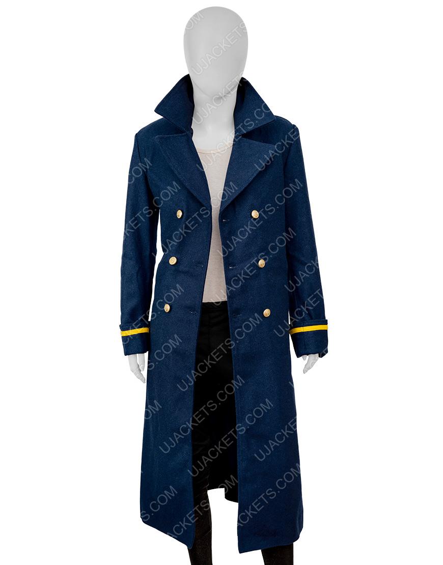 The Harder They Fall 2021 Regina King Coat
