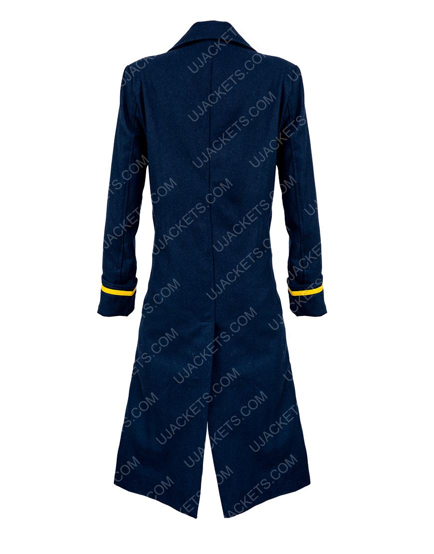The Harder They Fall Regina King Blue Coat