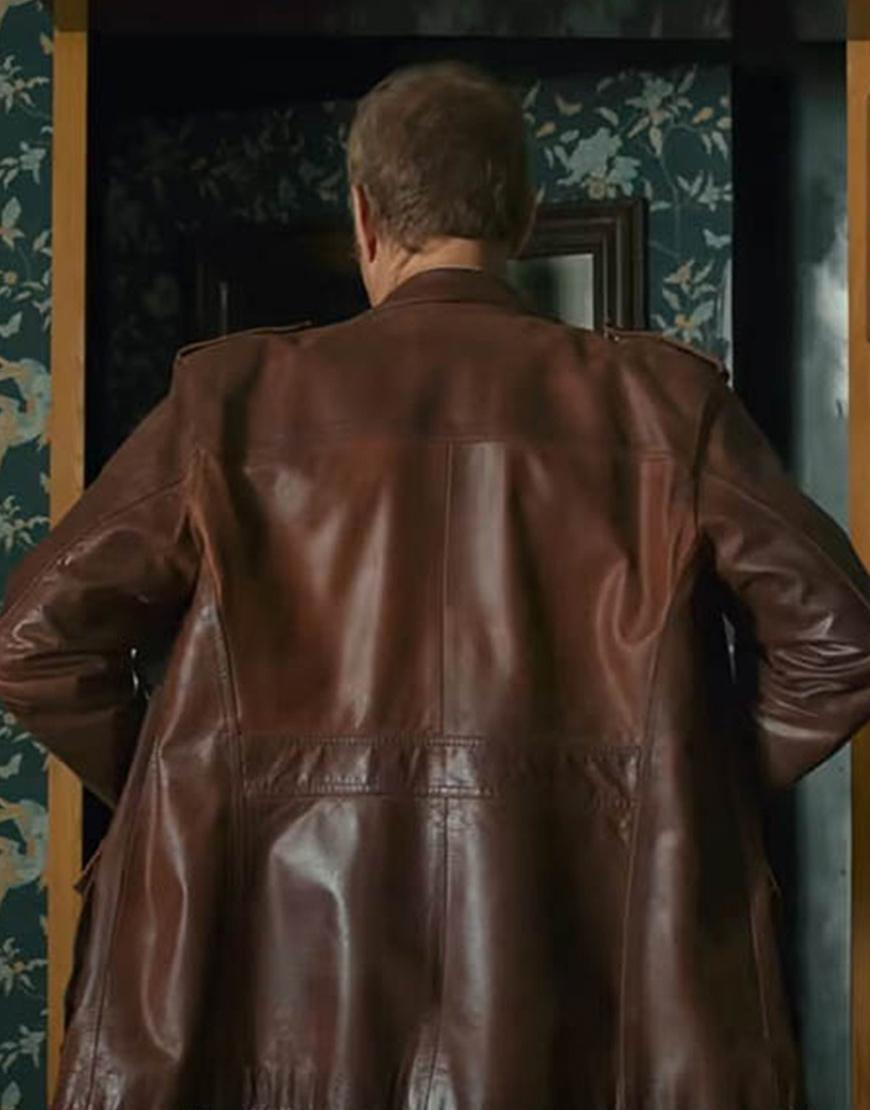 The Last Mercenary 2021 Jean-Claude Van Damme Brown Jacket