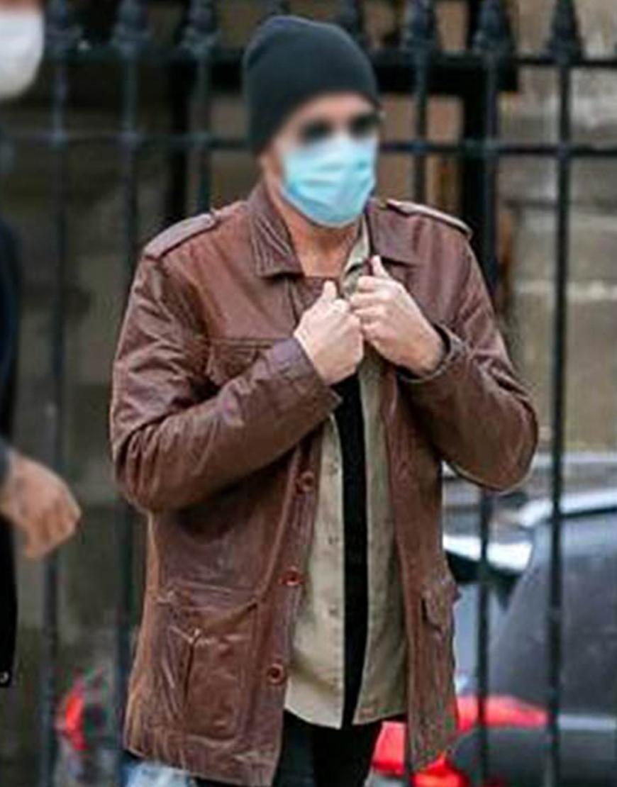 The Last Mercenary 2021 Jean-Claude Van Damme Leather Jacket
