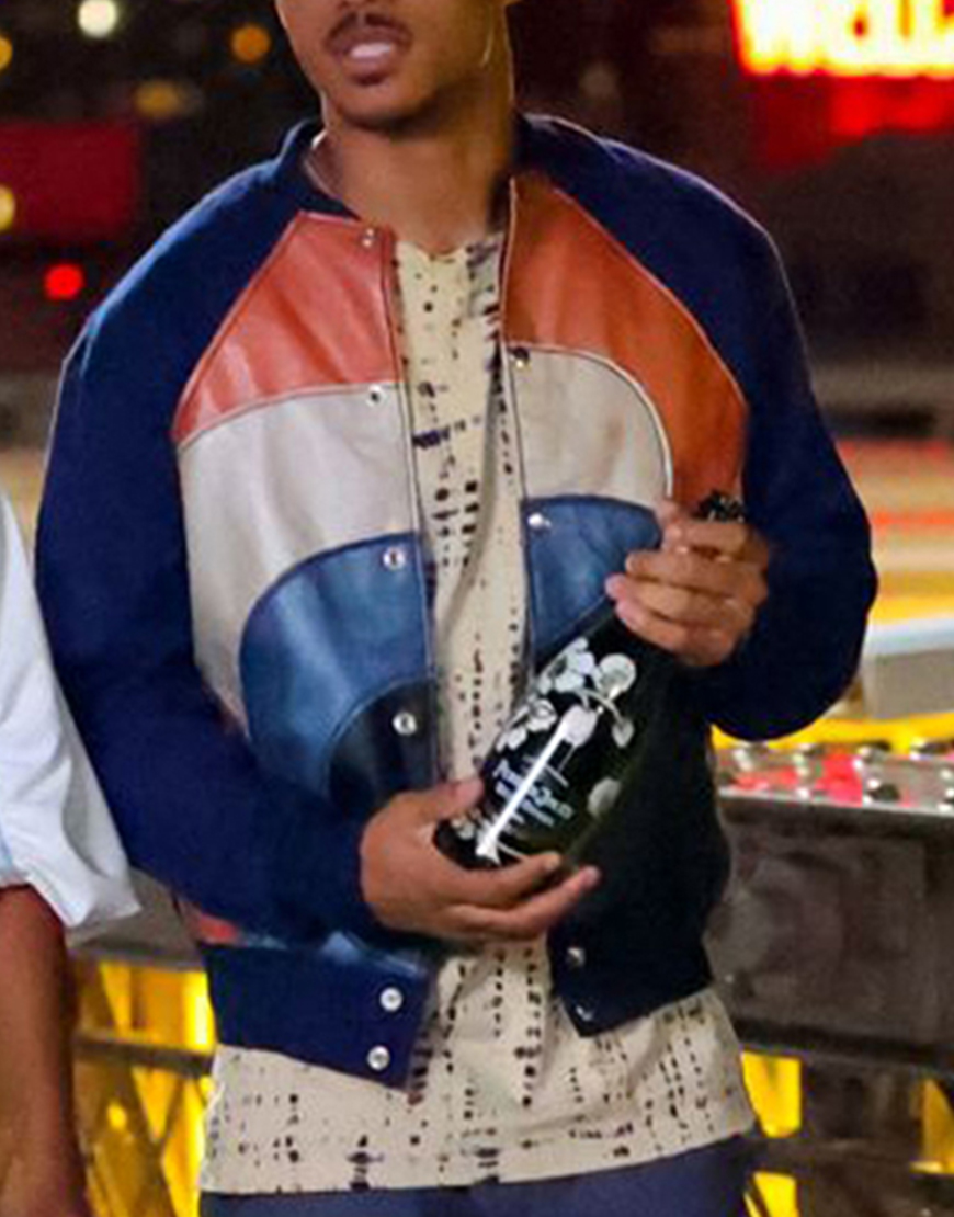The Perfect Find Keith Powers Tri-Color Jacket