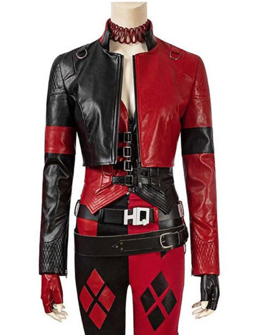 The Suicide Squad 2021 Harley Quinn Cropped Jacket