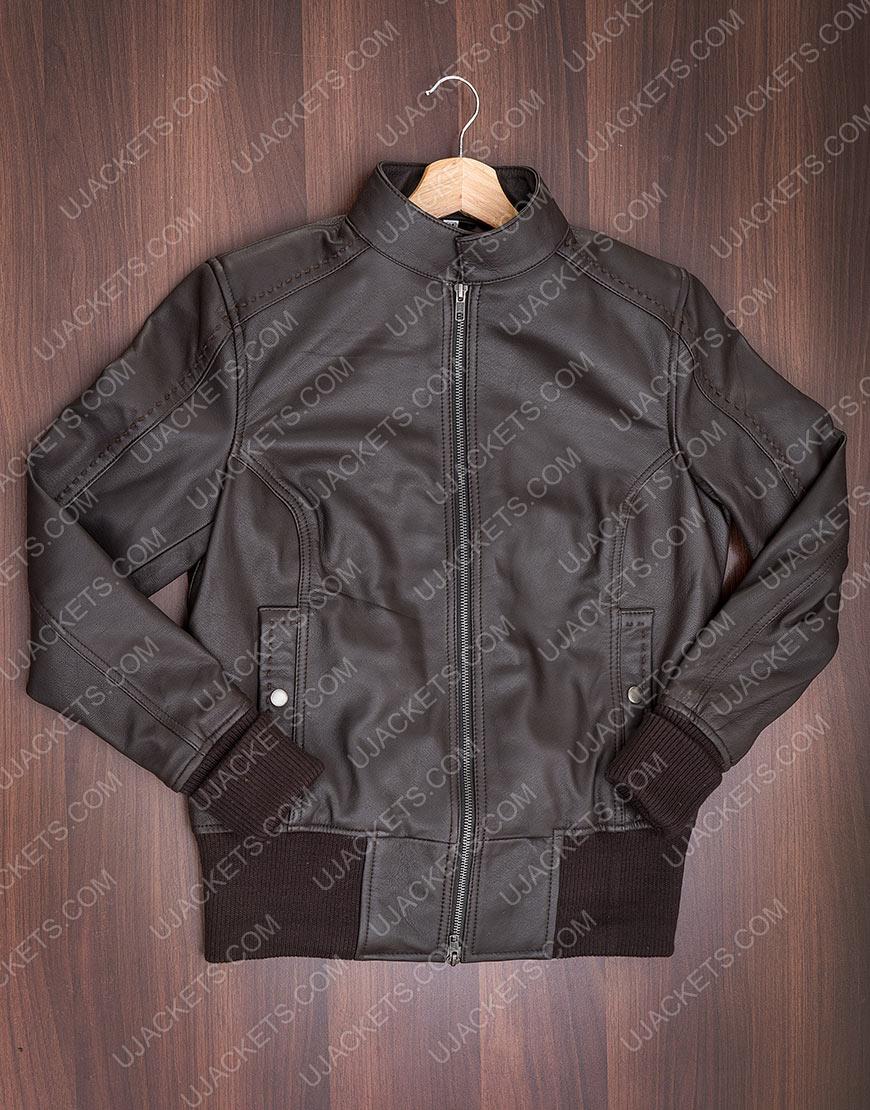 The Vampire Diaries Katherine Pierce Black Leather Jacket