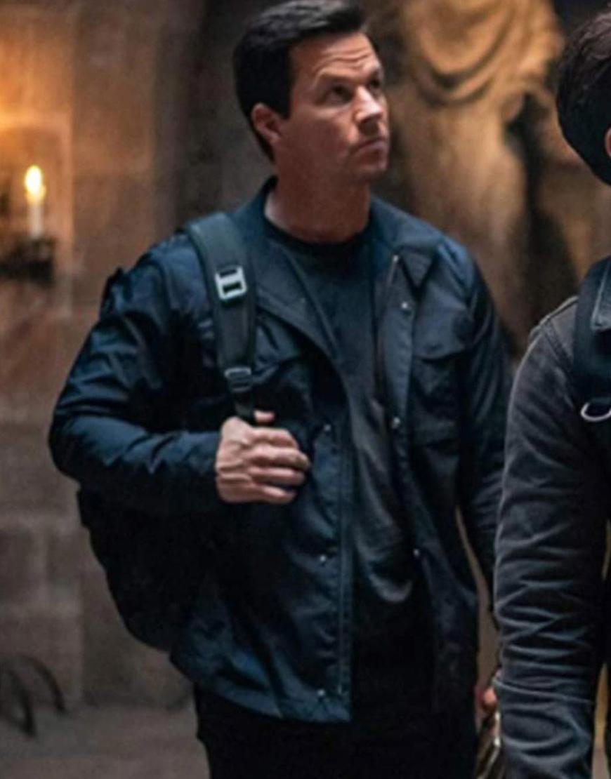 Uncharted 2022 Mark Wahlberg Jacket