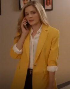 A Little Daytime 2021 Drama Jen Lilley Yellow Blazer
