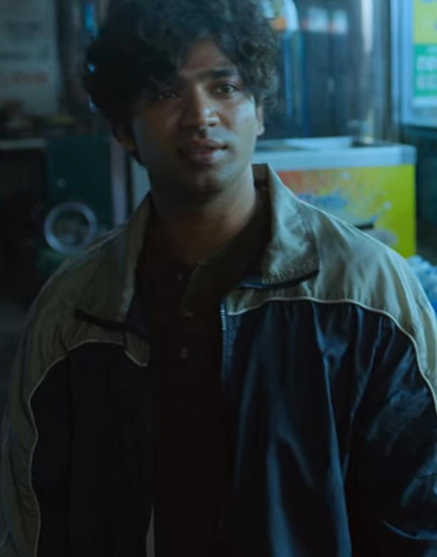 Ali Abdul TV-Series Squid Game 2021 Anupam Tripathi Blue Bomber Jacket