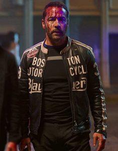 American Night 2021 Jeremy Piven Leather Jacket