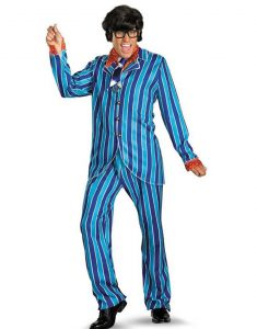 Austin Powers Mike Myers Pinstripe Suit