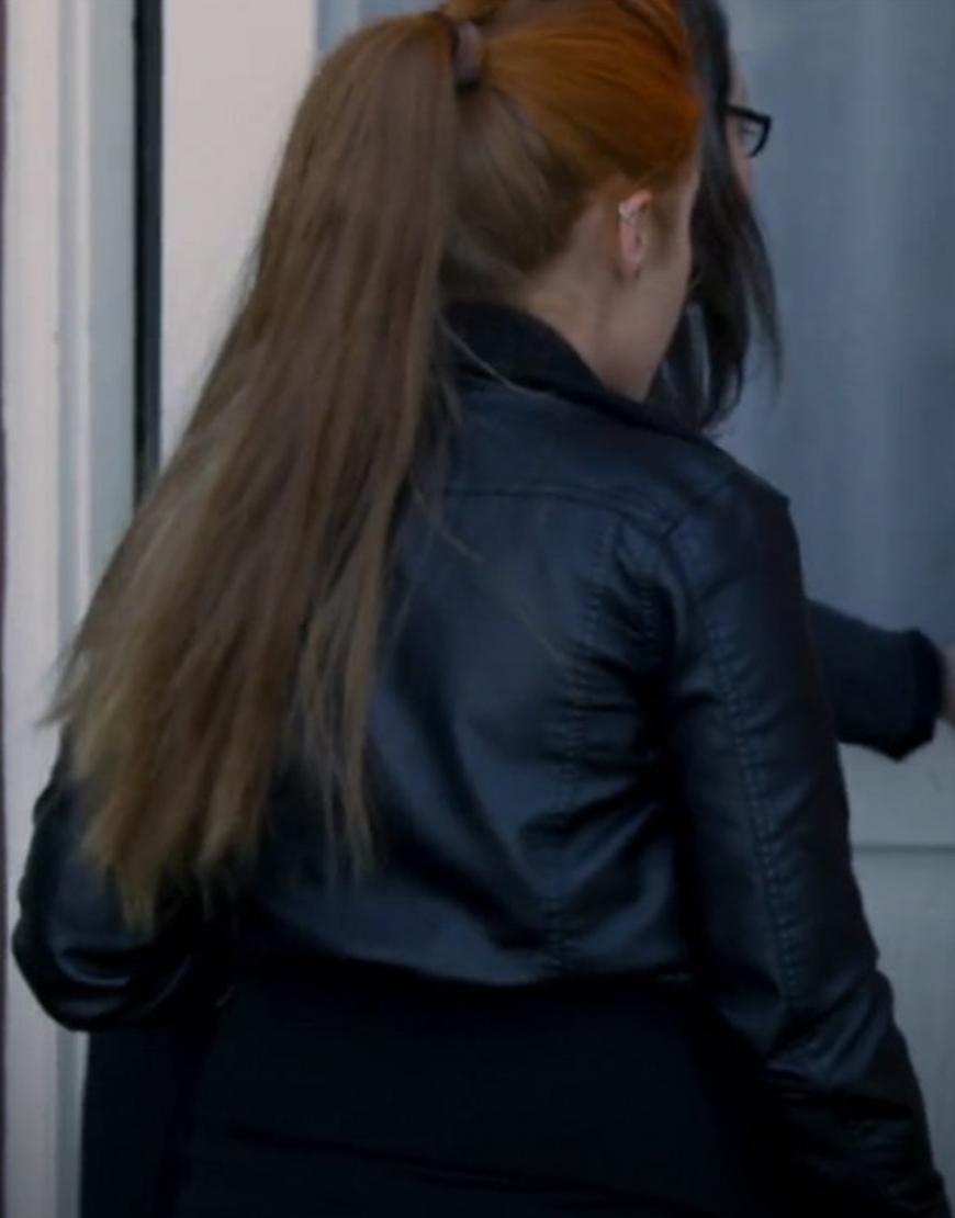 Chloe's Mountain Kenzie Mae Leather Jacket