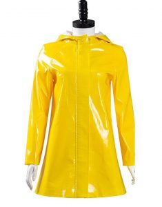 Coraline Yellow Hooded Coat