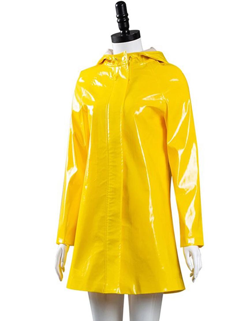 Coraline Yellow Rain Coat