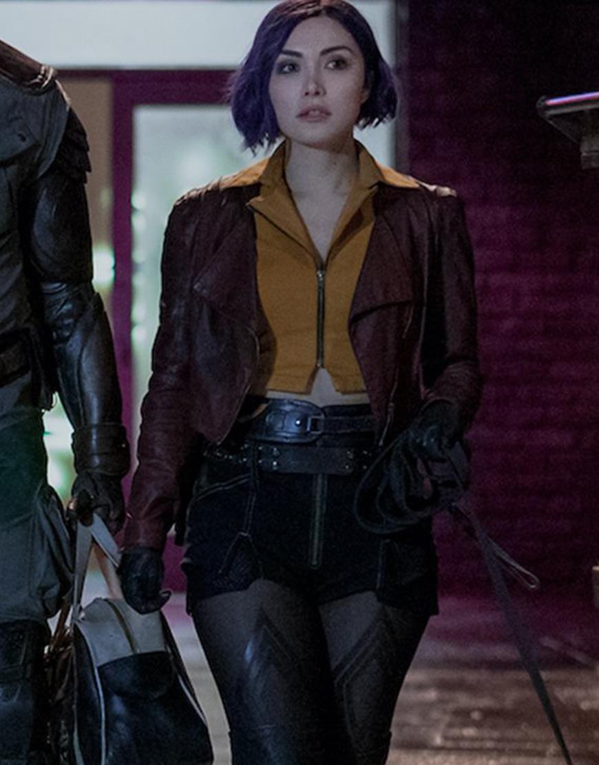 Cowboy Bebop 2021 Daniella Pineda Leather Jacket