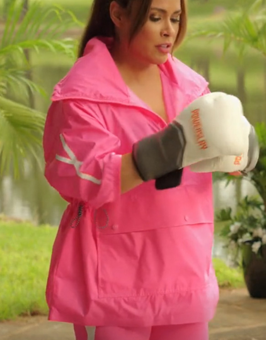 Cristal Jennings Dynasty Daniella Alonso Half-Zip Jacket