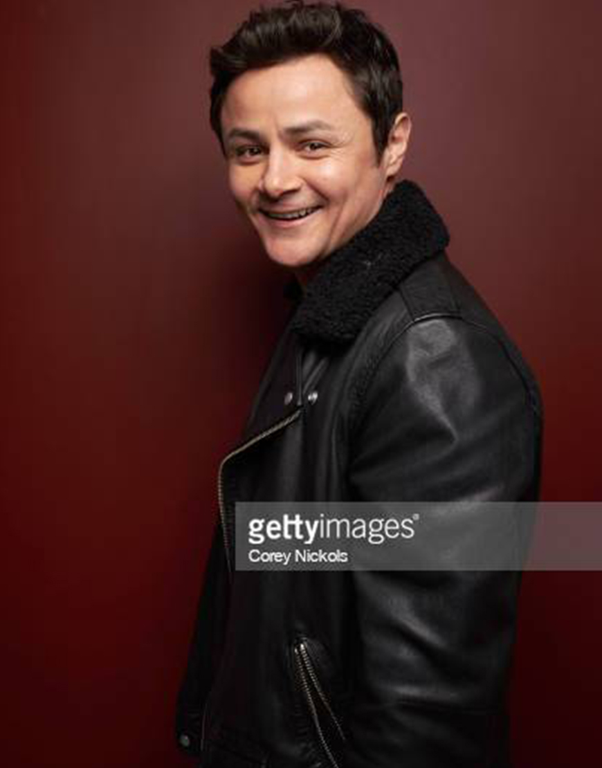 Dating & New York Arturo Castro Shearling Collar Leather Jacket