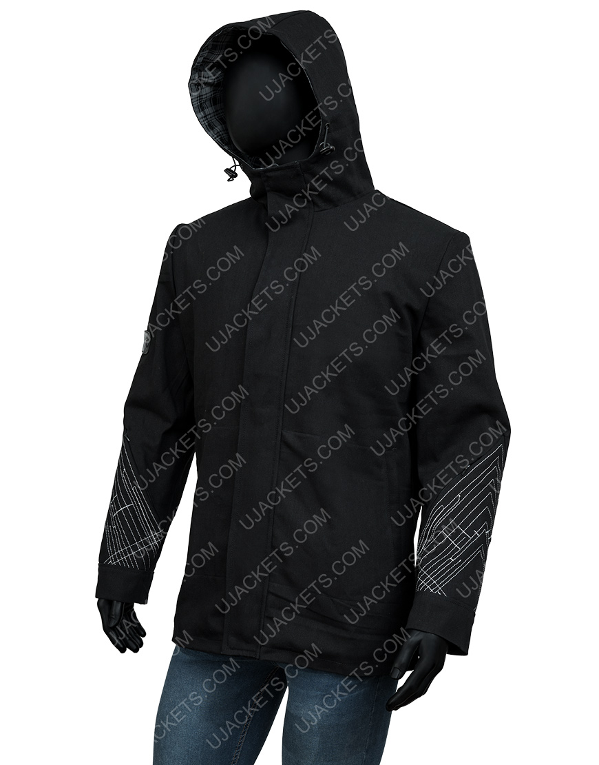 Destiny 2 Vault of Glass Hooded Black Jacket