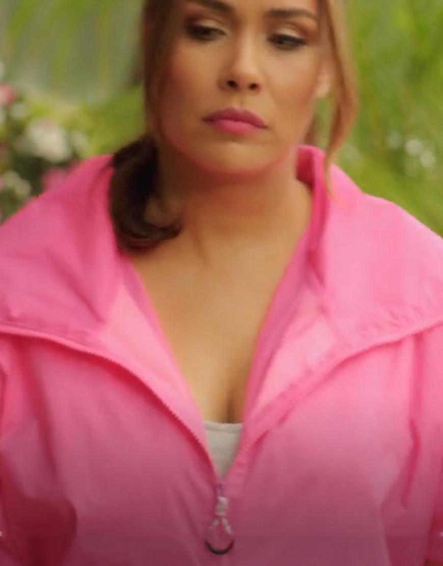 Dynasty S04 Cristal Jennings Pink Jacket