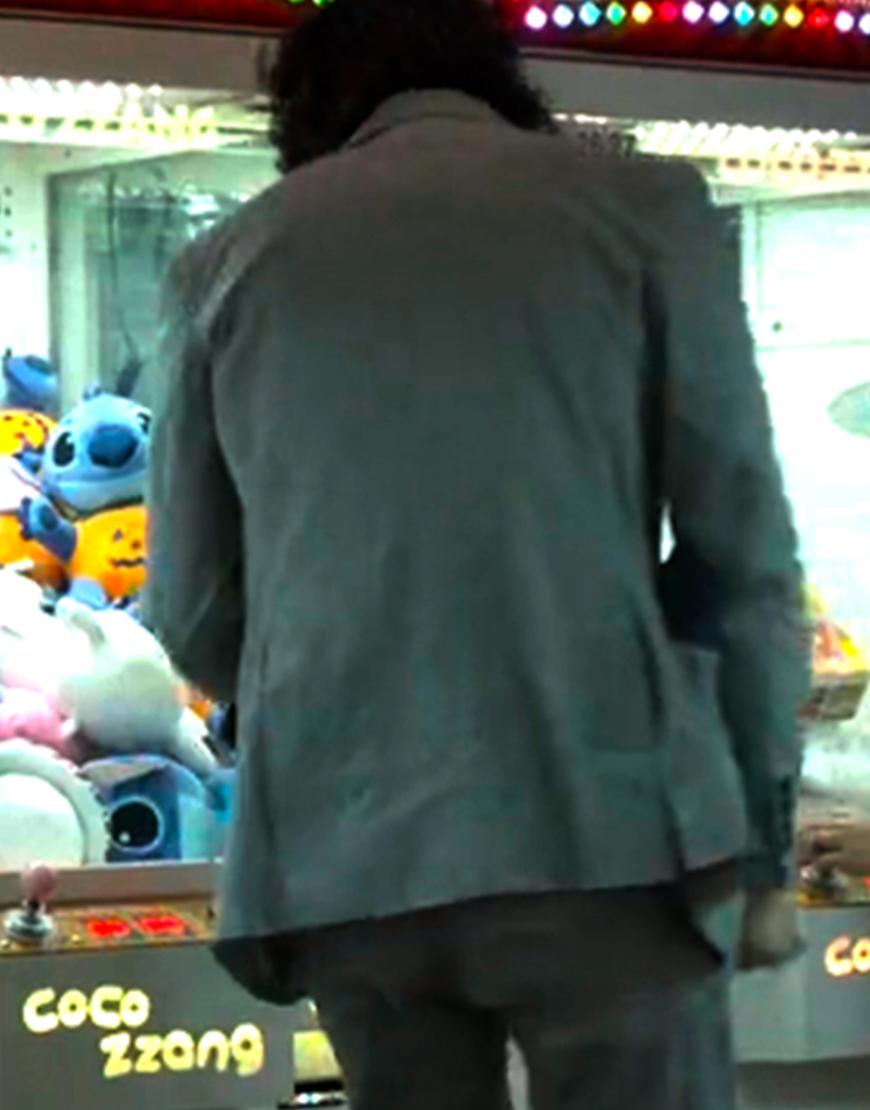 Gi-Hun TV-Series Squid Game 2021 Greg Chun Grey Blazer