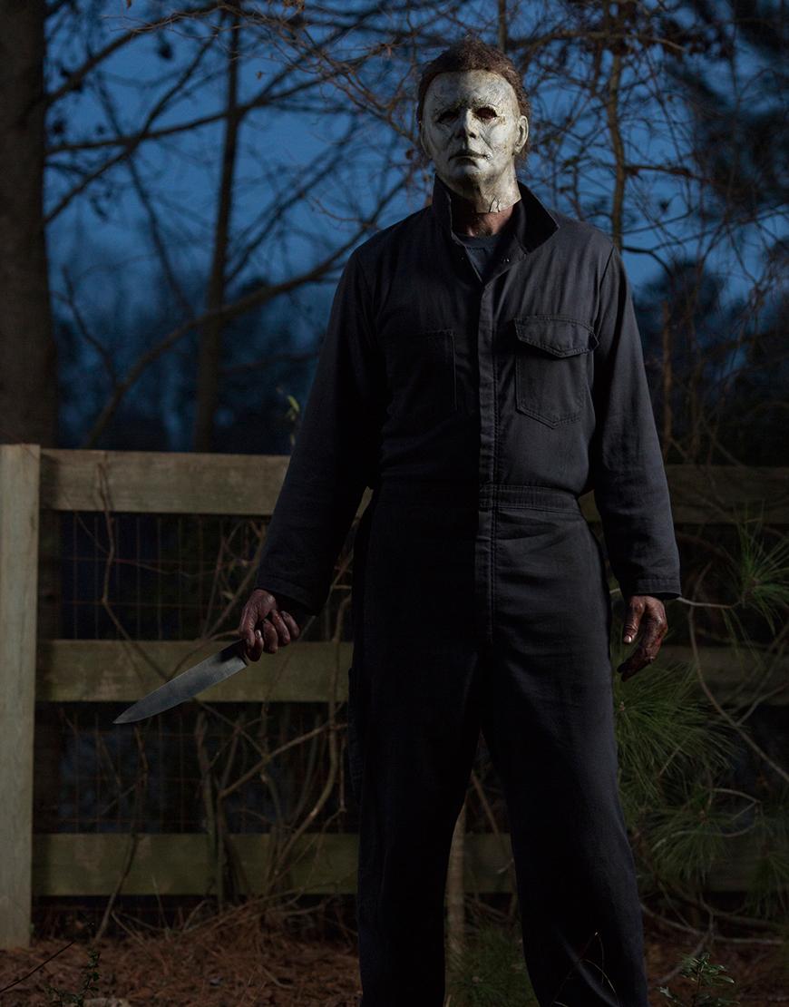 Halloween Kills 2021 James Jude Courtney Black Jumpsuit