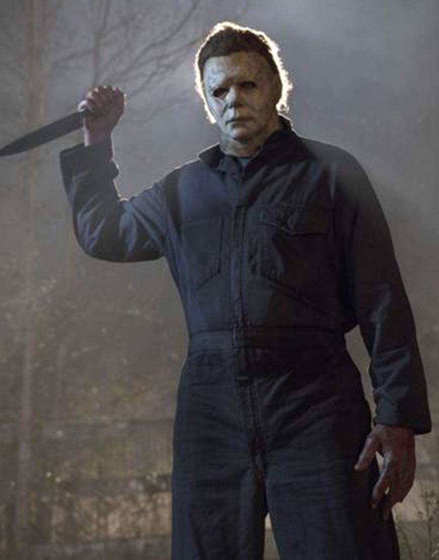 Halloween Kills 2021 The Shape James Jude Courtney Jumpsuit