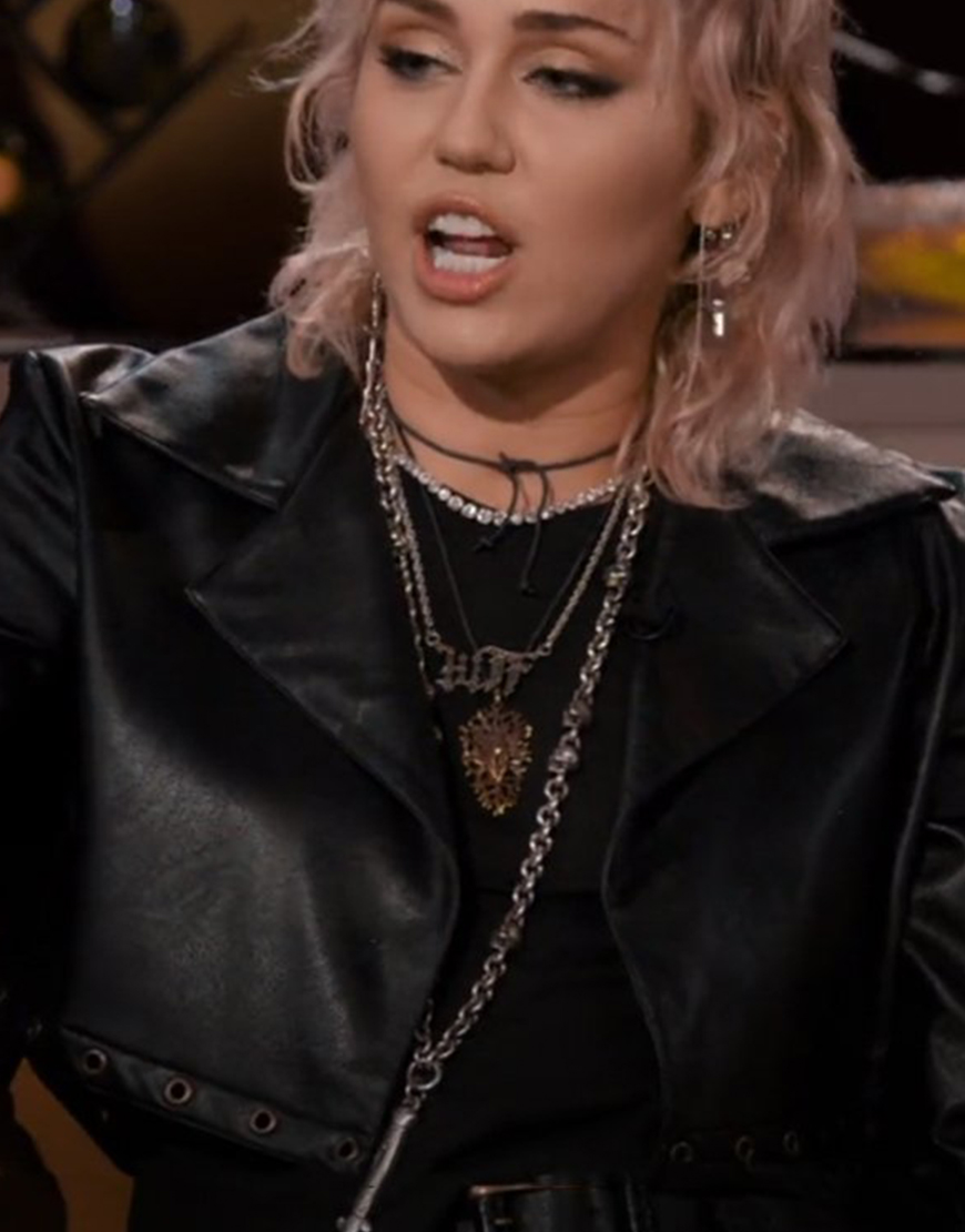 Hart To Heart 2021 Miley Cyrus Jacket