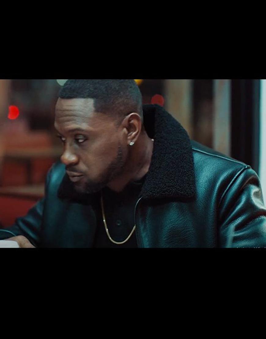 Johnson Omar Johnson Black Leather Jacket