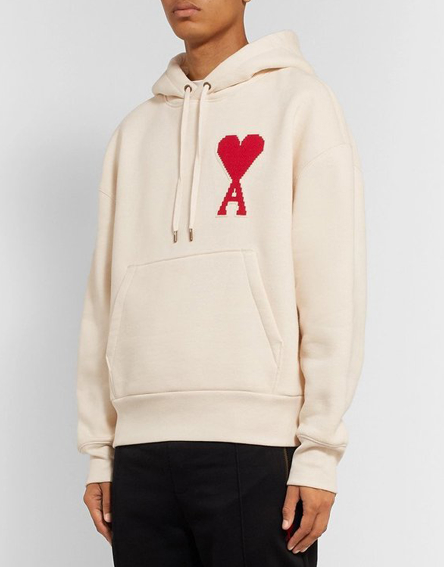 Juno Temple TV Series Ted Lasso Keeley White & Red Heart Hoodie