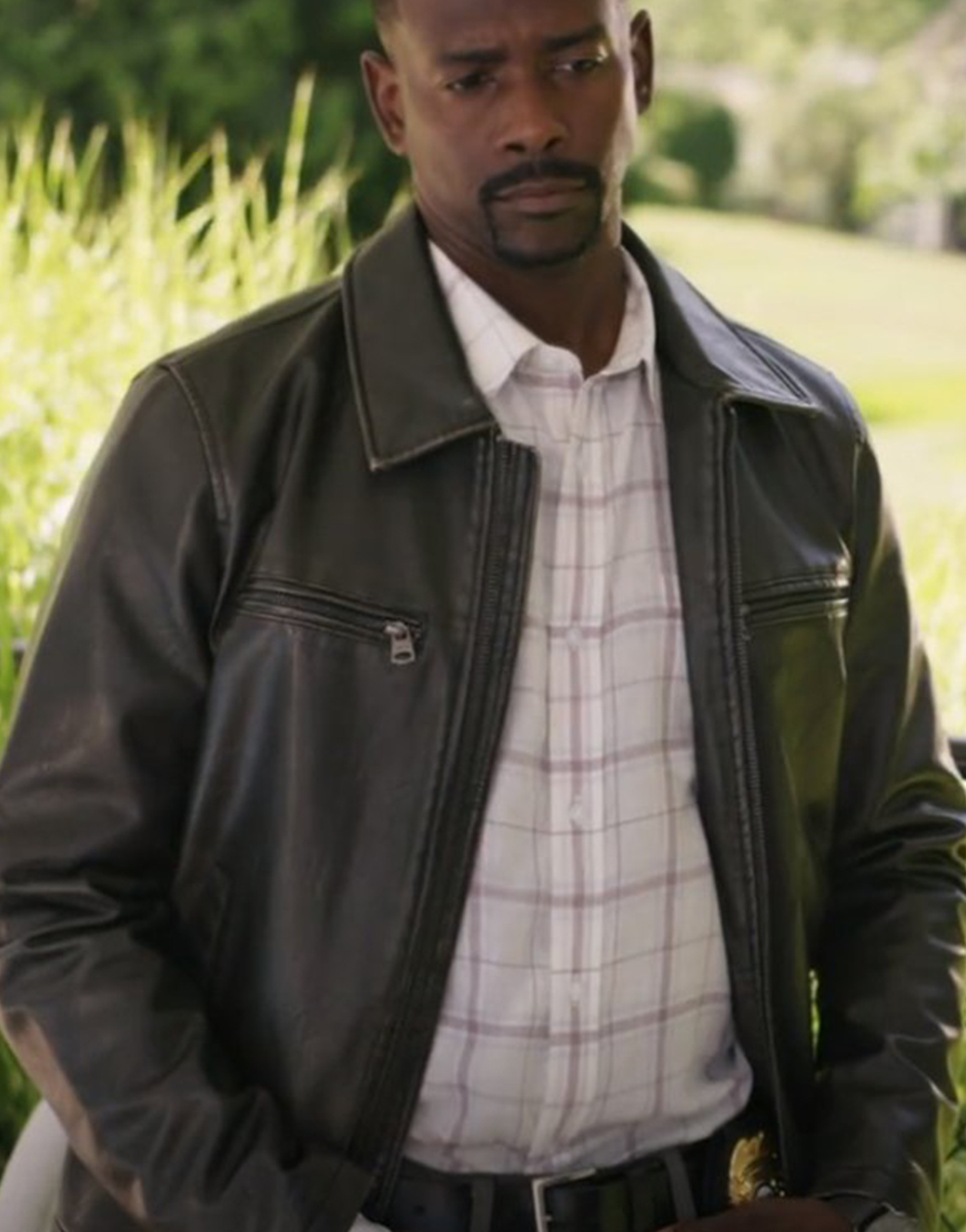 Keith D. Robinson Redemption In Cherry Springs Jake Collins Leather Jacket