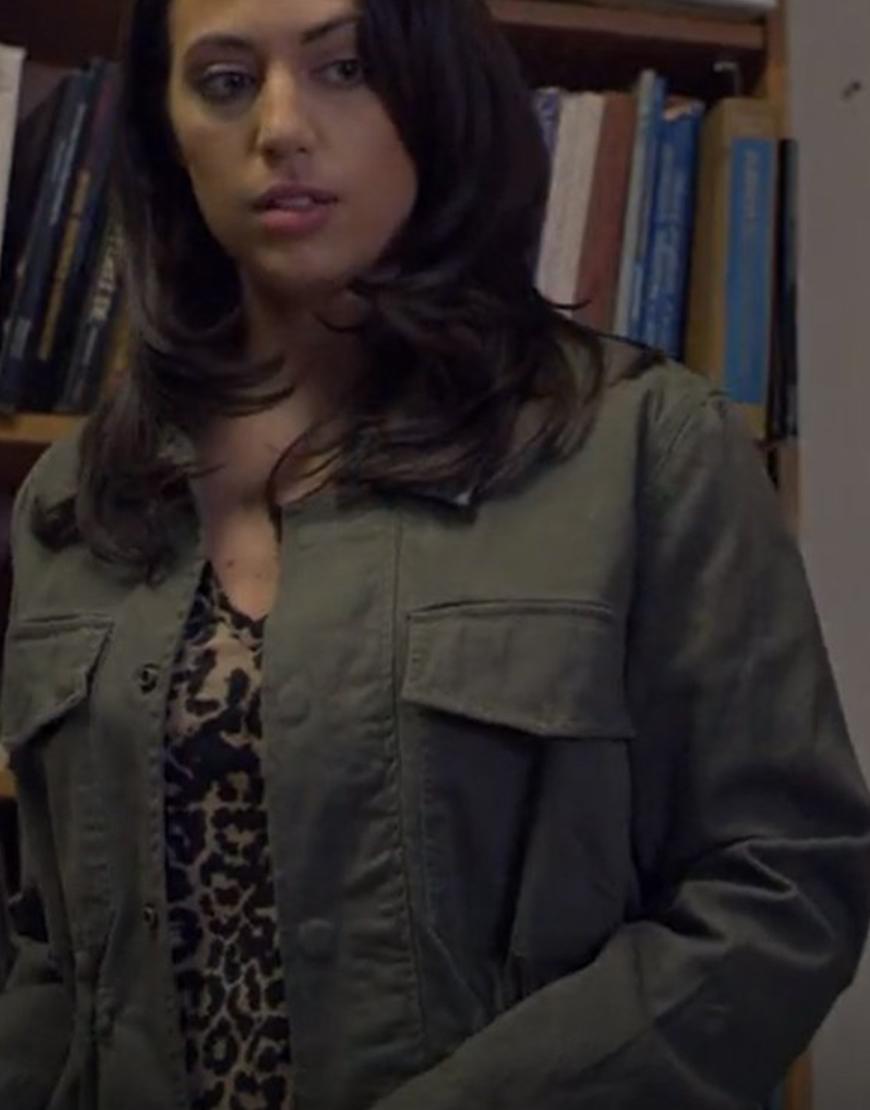 Lethal Love Triangle 2021 Taylor Jabara Green Cotton Jacket