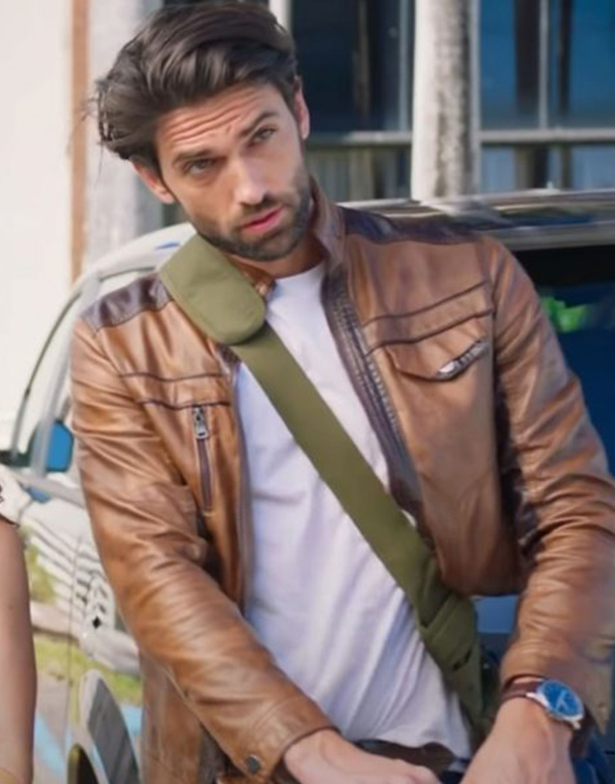 Love Map 2021 Reed Favero Leather Jacket