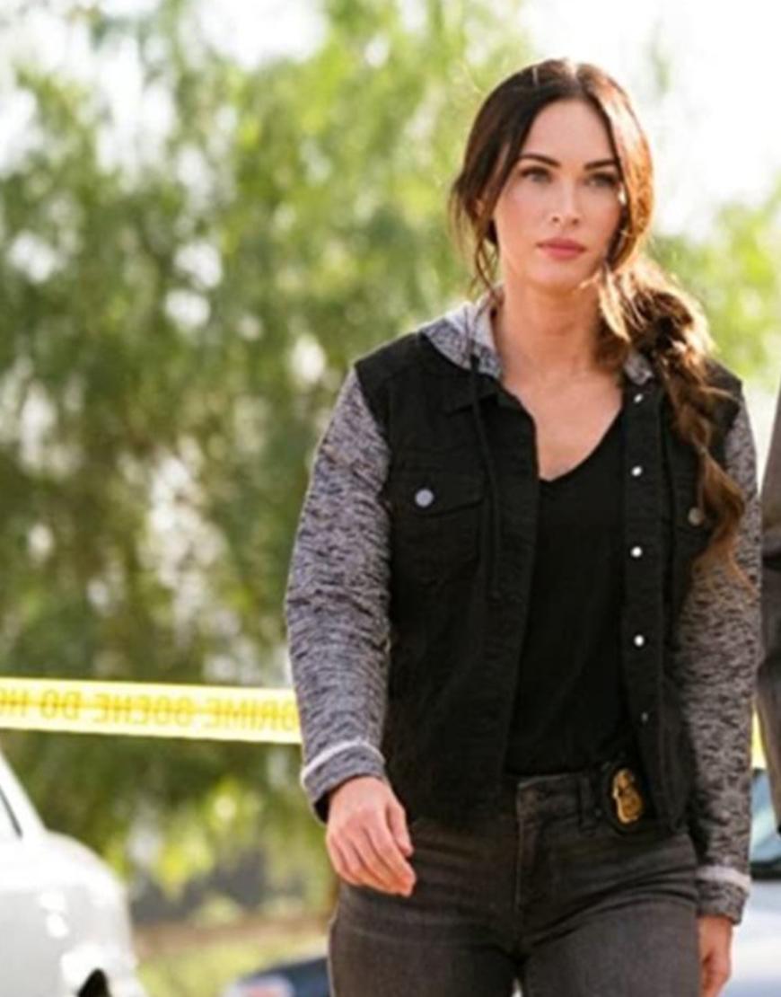Midnight In The Switchgrass 2021 Megan Fox Denim Jacket