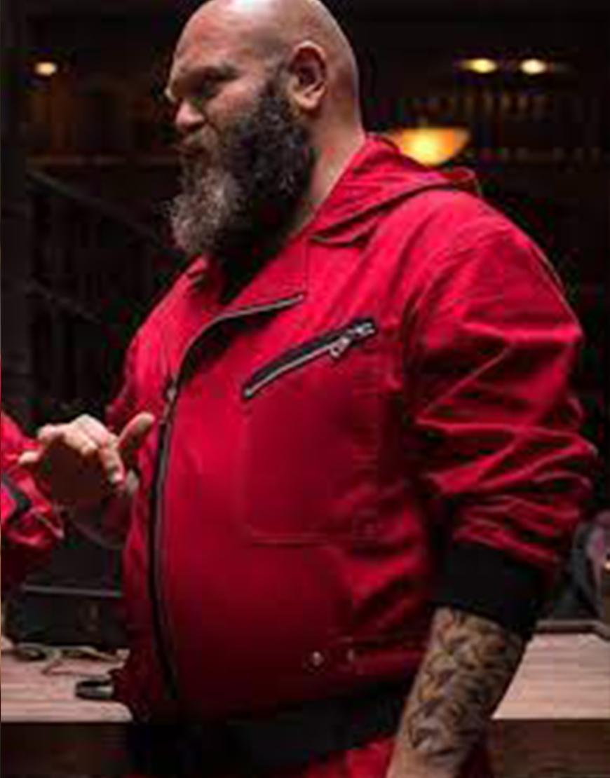 Money Heist S05 Darko Peric Red Jacket