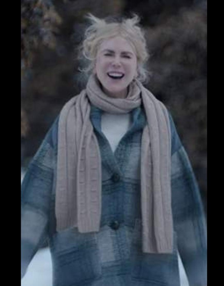 Nine Perfect Strangers 2021 Nicole Kidman Plaid Coat