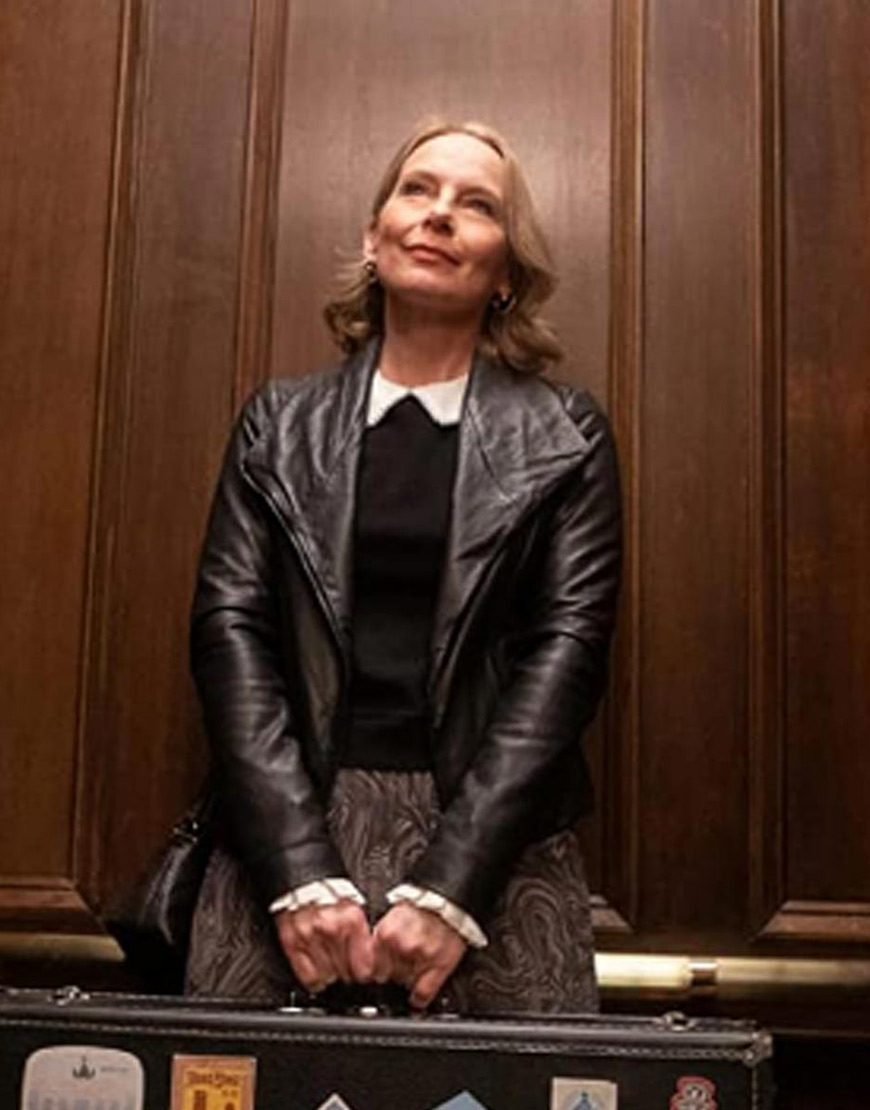 Only Murders In The Building Amy Ryan Leather Jacket