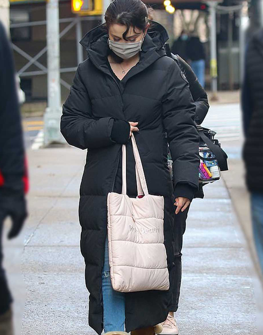 Only Murders In The Building Selena Gomez Puffer Coat