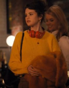 Only Murders In The Building Selena Gomez Yellow Sweater