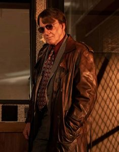 Only Murders In The Building Steve Martin Leather Coat