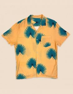 Outer Banks S02 Chase Stokes Yellow Shirt