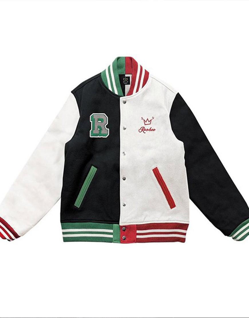 Ranboo Multi-Color Varsity Jacket
