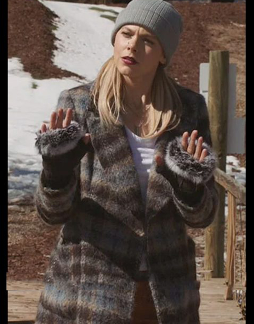 Roswell New Mexico S03 Lily Cowles Plaid Coat