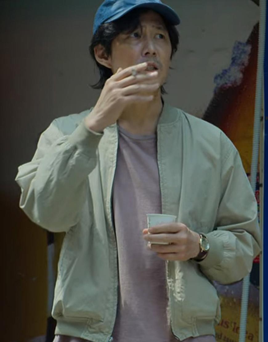 Seong Gi-hun Squid Game 2021 Jung Jae Lee No 456 Bomber Jacket