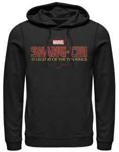 Shang-Chi and The Legend of the Ten Rings Logo Black Hoodie