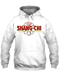 Shang-Chi and The Legend of the Ten Rings Logo White Hoodie