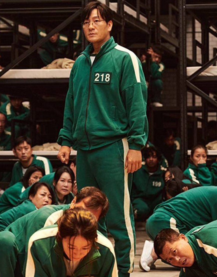 Squid Game 2021 Green Tracksuit